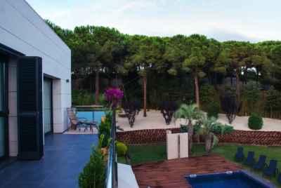 Superbe maison meublée avec vue sur la mer sur la Costa Maresme, près de Barcelone